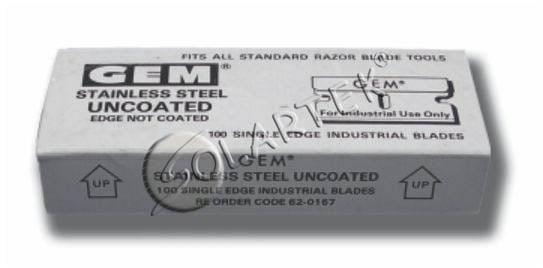 Лезвия для GT 138 (100 шт.)
