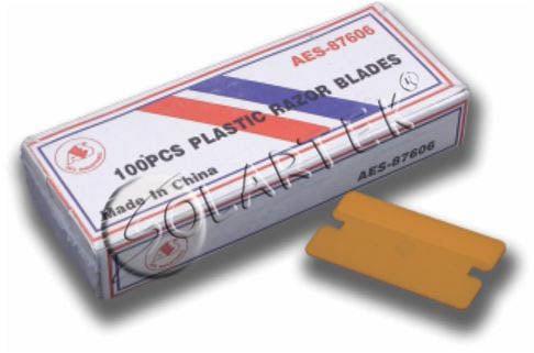 Лезвия пластиковые (100 шт.)