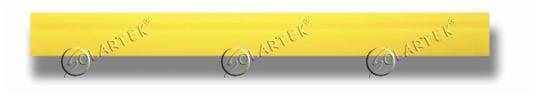 Жёлтая полиуретановая вставка (Turbo) 50см