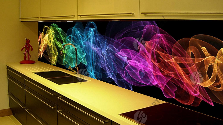 картинки для стеклянного фартука на кухню абстракция подобная опасность
