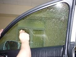Удаление тонировки без демонтажа стекол