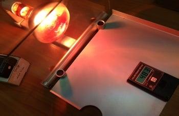 Прохождение тепла ( BTU измерения) стекло без пленки